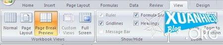 Excel 5 - 8 công cụ cực thuận tiện có thể bạn chưa biết trong Excel