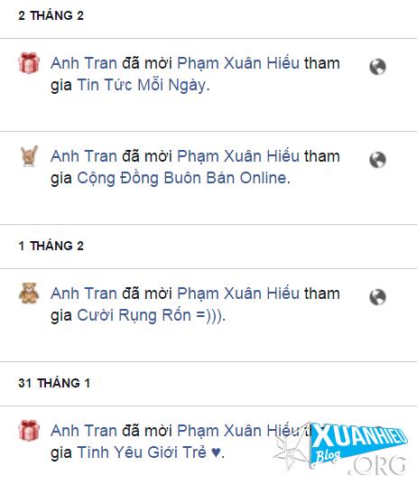 chan moi nhom  - Lướt facebook vô tư không lo bị spam mời nhóm
