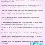 Bức thư gửi phụ huynh trước kỳ thi nói lên tất cả về nền giáo dục tiên tiến của Singapore