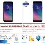Đại tiệc SS 24/5: Đặt Samsung Galaxy A6 | A6 Plus giảm giá còn 6 triệu quà 3 triệu bảo hiểm rơi vỡ