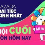 Tổng hợp tất cả các chương trình mừng sinh nhật 2018 Lazada