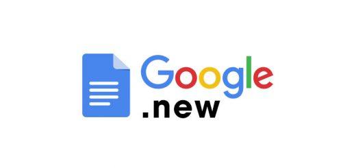 """google drive doc new 520x245 - Google thêm tên miền ngắn """".new"""" để tạo file online cực nhanh trên Drive"""