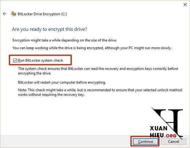 cach tao mat khau o cung voi bitlocker tren windows 10 11 xuanhieu org - Cách Tạo mật khẩu ổ cứng với BitLocker trên Windows 10